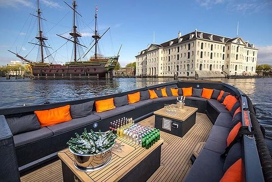 Luxury Small Open Boat Canal Tour