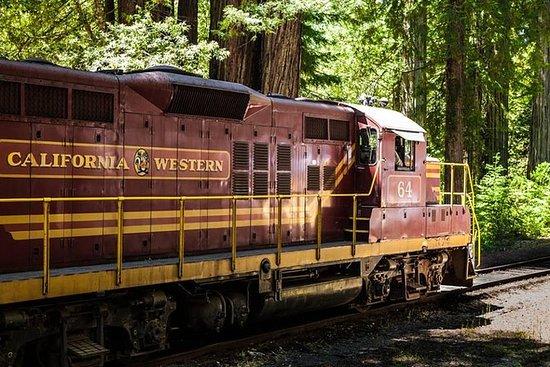 Skunk Train: Northspur Flyer di