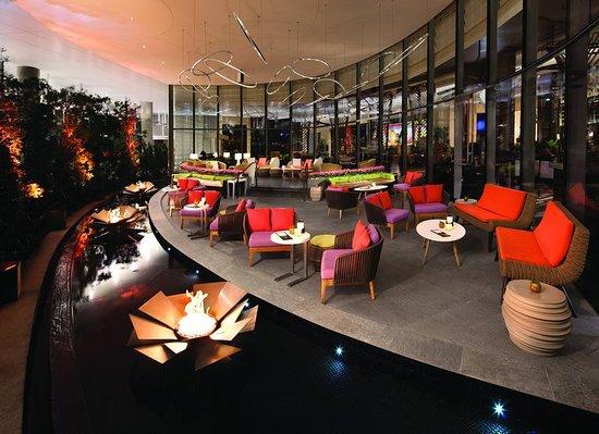 Vdara Hotel Spa At Aria Las Vegas Bar Lounge