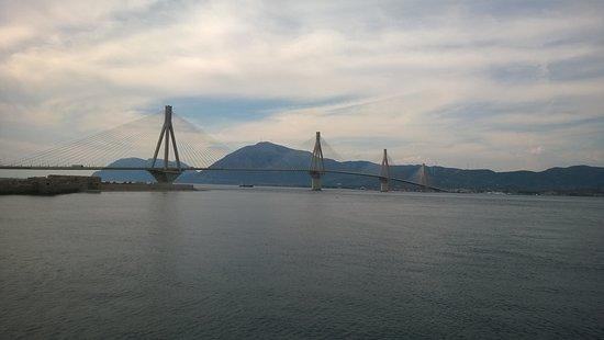 Rio-Antirrio Bridge (Charilaos Trikoupis): Γέφυρα Ρίου-Αντίρριου