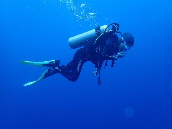Bunaken Island, إندونيسيا: saya ketika menyelam di bunaken