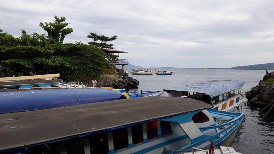 Bunaken Island, إندونيسيا: ketika berangkat ke bunaken