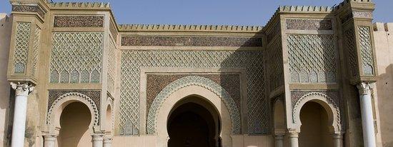 Marokko: Bab Mansour - La capitale de Moulay Ismail