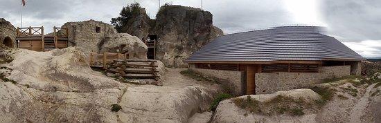 Sirok, Hungría: Az alsó várudvar