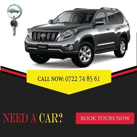 Toyota Prado car hire Kenya