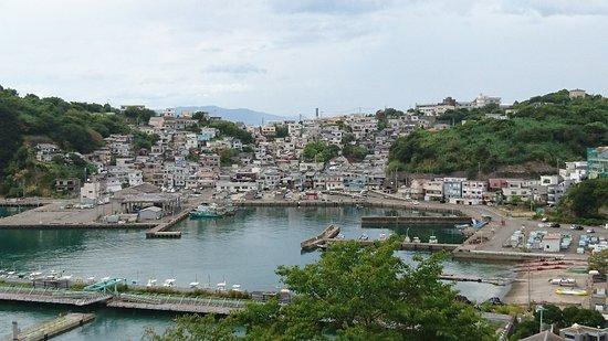 Cape Saikazaki: 露天風呂からの眺め