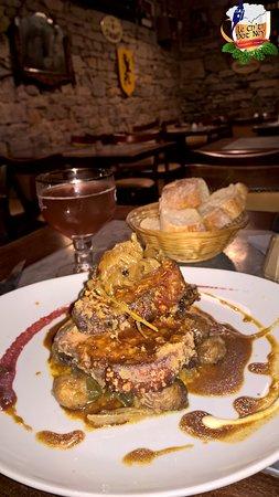 Le Ch'ti Pot Ney - Estaminet - Restaurant - Bar: CARRE DE COCHON ou CUISSOT DE LAIT à l'ancienne et son jus parfumé