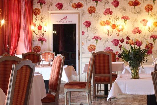 Fontenai-sur-Orne, Prancis: Restaurant la table de Catherine - Hôtel le Faisan Doré - Argentan