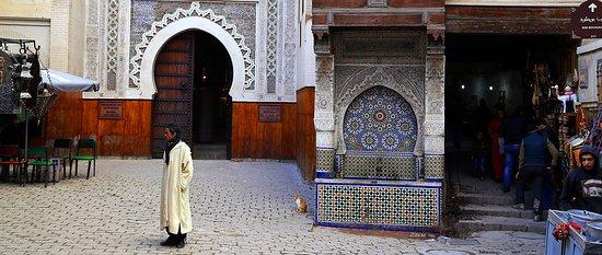 Marokko: Fez - fontaine Nejjarine
