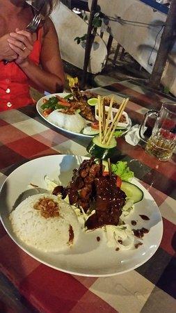 Warung Get Lucky: BBQ snapper