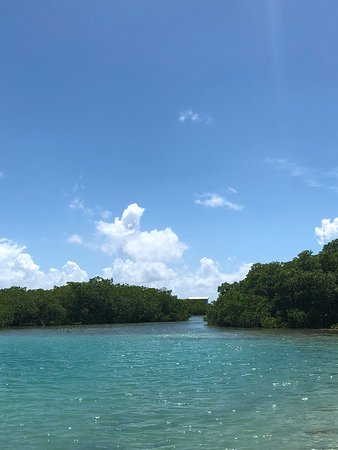 St. George's Caye, Belize: Fishing and snorkeling around the island