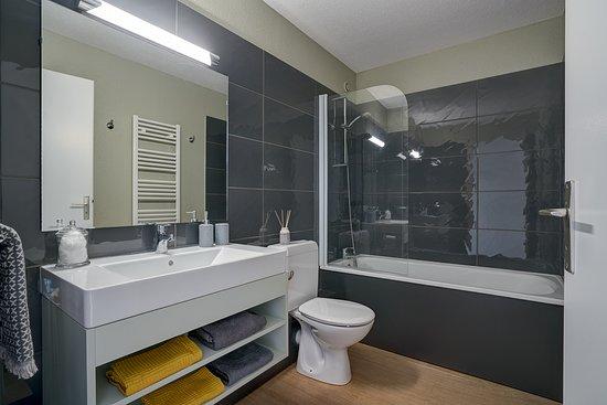 Exemple de salle de bains Club Belambra \
