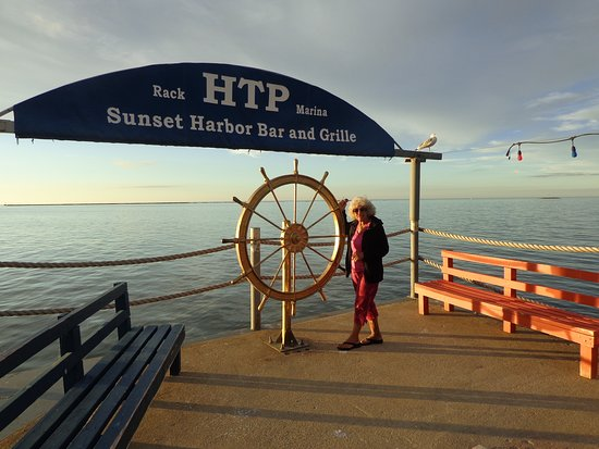 Fairport Harbor, OH: Dock and Lake