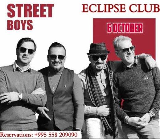 Eclipse Club & Lounge: 6 October 2018 Street Boys @eclipseclub