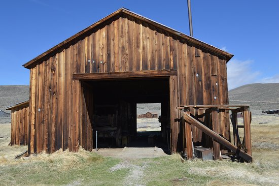 Okanogan, WA: Grange de Bodie Town
