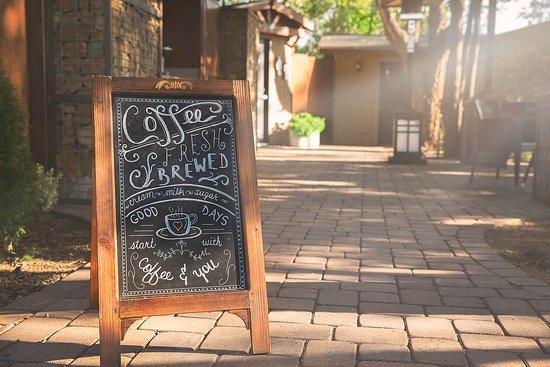 Chino Valley, AZ: Entrance to coffee bar