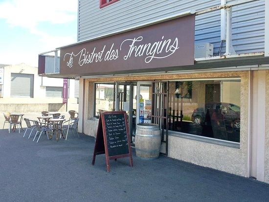 Caissargues, Frankrike: Façade du bistrot