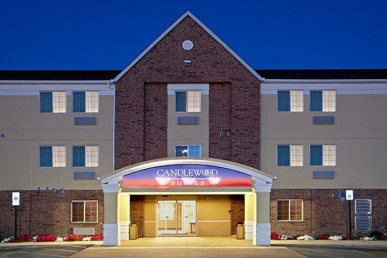 キャンドルウッド スイーツ インディアナポリス サウス ホテル
