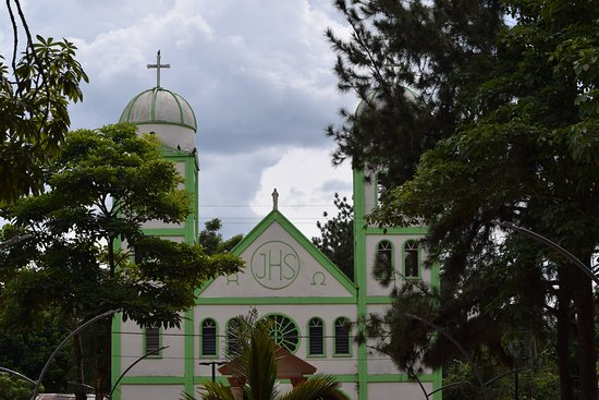 La Macarena, Colombia: Church from the plaza