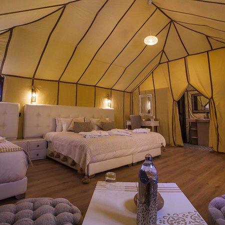 Luxury Oasis Camp: Accoglienza