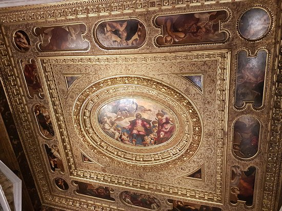 Scuola Grande di San Rocco : Detalhe do teto