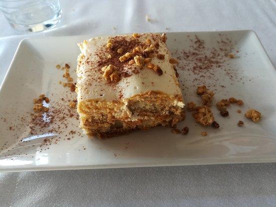 Restaurante Benavent: Tiramisú casero