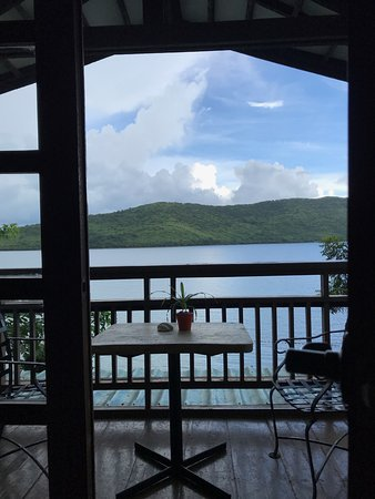 Busuanga Town, Philippinen: view from inside abacelia room