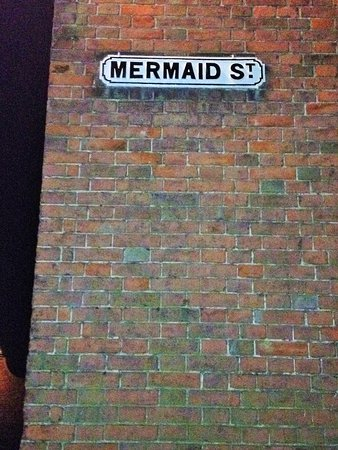 Rye, UK: Top of Mermaid Street