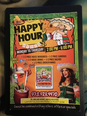 La Fortaleza: Half Price Happy Hour
