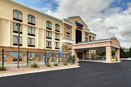 Fairfield Inn & Suites Anniston Oxford: Exterior