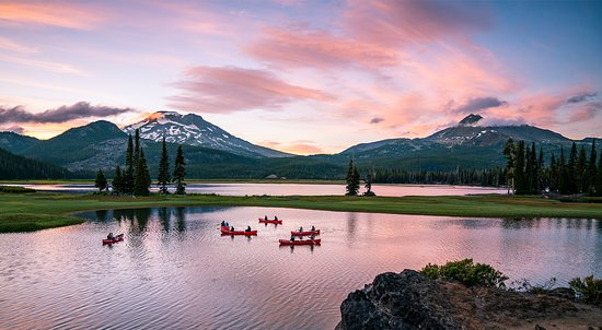 Bend, OR: Sparks Lake Sunset
