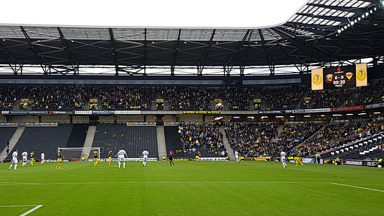 Stadium mk: When this team eventually makes the Premiership, it will be packed.