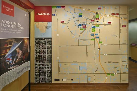 Map Picture of Towneplace Suites Fort Lauderdale Weston Weston