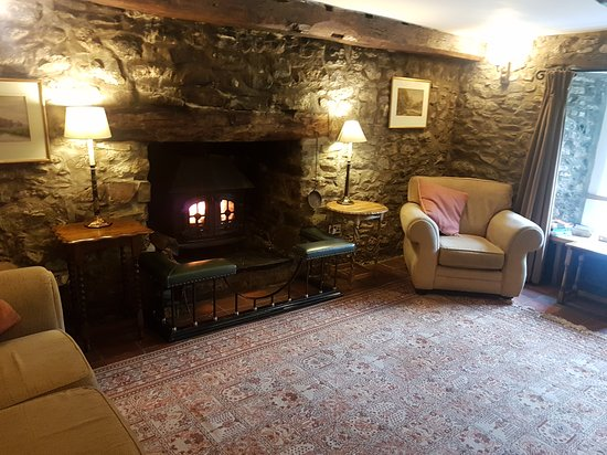 Brechfa, UK: Lounge