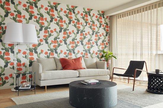 Luxury apartment living area