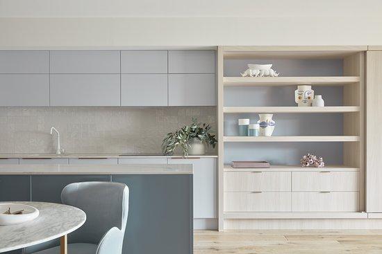 Carmel at Sorrento: Luxury Apartments kitchen & dining