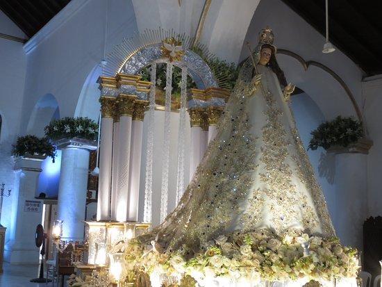 """Since, Colombia: Arreglo 2018 de salida procesional,Titulado:""""Virgen María Señora Augusta, fuente de luz y de Gra"""