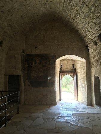 Kolossi Castle : The empty castle inside.