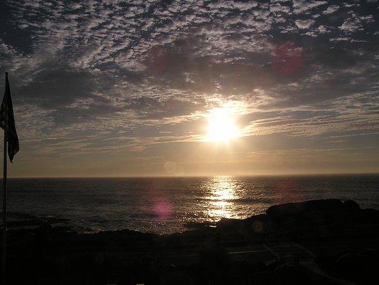 Atlantis Oceanfront Inn: View from our room of the sunrise