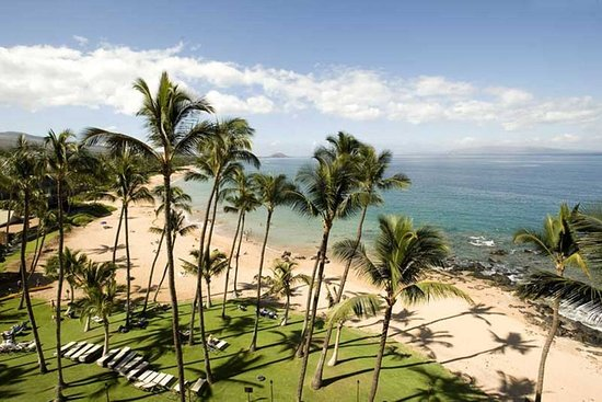 Mana Kai Maui : One pic from 4th or 5th floor. One from 2nd floor (end of building away from ocean). It's all go