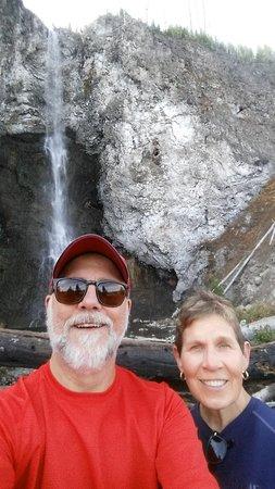 Us near the falls