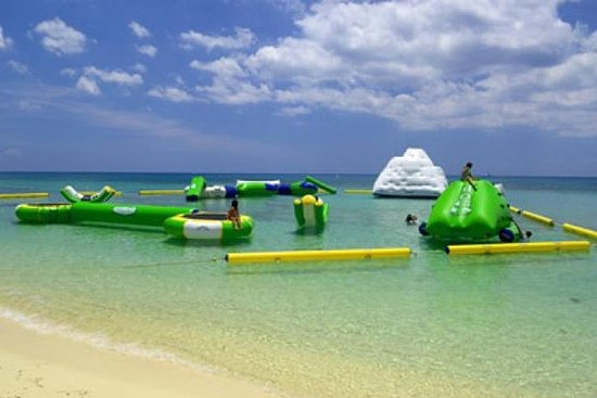 Aquatic Park At Mr Sancho S Beach Club Provided By Sanchos Cozumel Quintana Roo Tripadvisor
