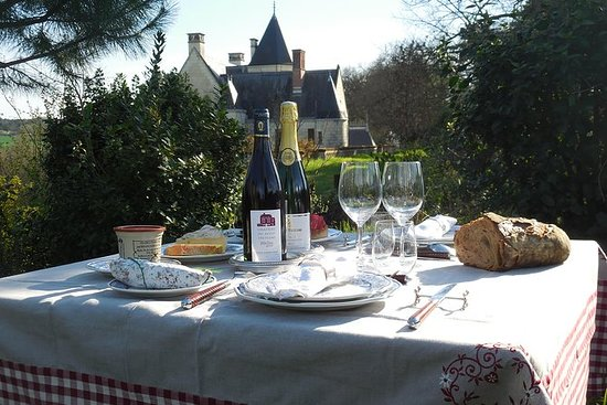 Picnic in the Vines Tour of Chinon...