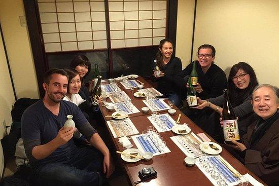 Degustação de saquê em Takayama