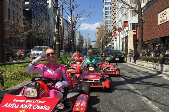 Osaka Go Kart Tour including Funny...