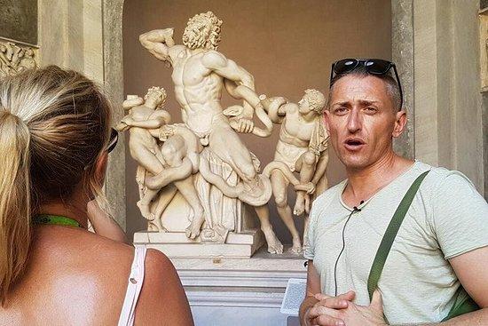 Sistine Chapel before Crowds...