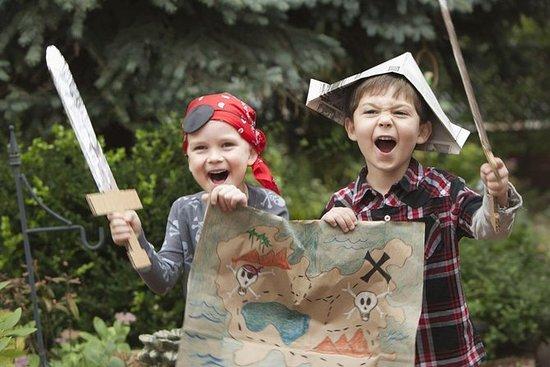 Program - skattejakt for barn
