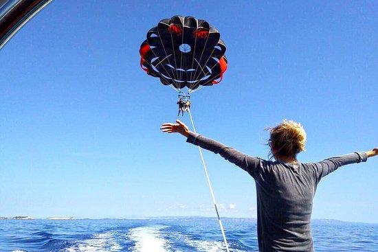 Parachute ascensionnel à Trogir