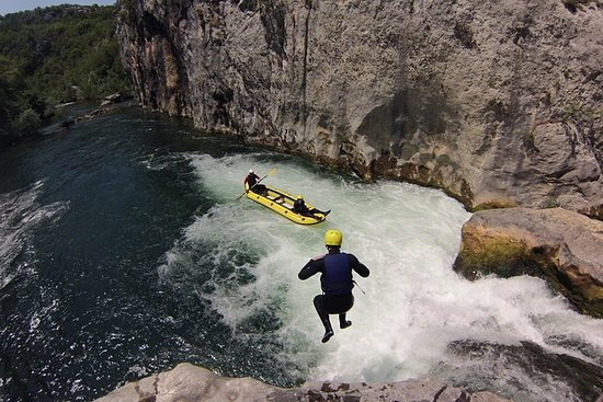 Multi Adventure tour on Cetina river