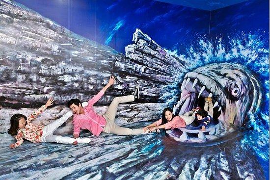 弘大(ホンデク)大学のトリケイ美術館と氷の博物館